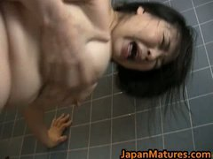 Busty Japanese mature ... - Tube8
