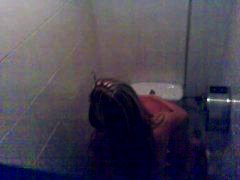 spain, public nudity, disco, bathroom, amateur