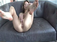 creampie, ass, amateur, cheeks, anal, cock, brunette, spreads, hardcore