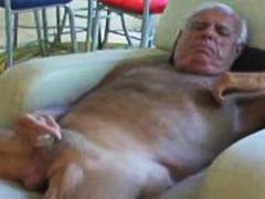mature, grandpa, masturbation, daddy, old, solo, older, jerking, cock