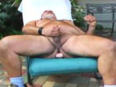 outside, chubby, dildos, mature, bearish, dildo play, daddy, mark, jerking, older, fat, toys, jerking off