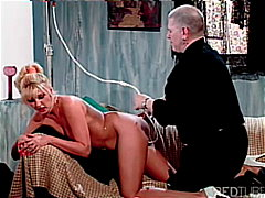 anal, blonde, ass, enema, into,