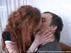 kissing, teen, girl, exploited, chinese, asian, redhead