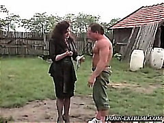 ruined, ass, lady, guy, anal, vintage, busty