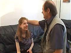 French girl talked in to trying out for casting and gets banged
