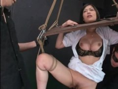 breast play, uniform, japanese, humiliation, nurse, fucking machine, bdsm