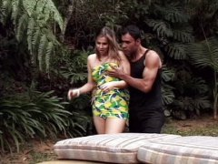 shemale, outdoor, some, cumshot, blowjob