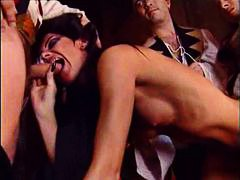 pussy eating, orgy, hardcore, babes, on, group, costumes, anal, blowjob,