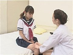 young, nurse, seduced, gal, make, lesbian, japanese, gets, asian