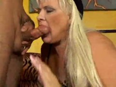 milf, blond, bj