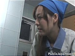 outdoor, asian, uniform, hardcore, maintenance, part2, voyeur, goes, girl, public, blowjob, interracial, japanese