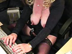 grannies, matures, fun, huge, computer, horny, grandma, amateur, clit