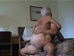 haired, horny, white, milf, granny, pounded, mature