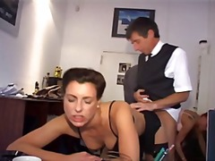 big tits, office, group, hardcore, sexy, hammered, redheaded, secretary, ass, gets