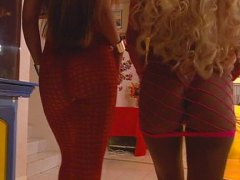 trina michaels, jesse capelli,  hot, threeway, blonde, big tits, jesse capelli, trina michaels, lingerie, lesbian,