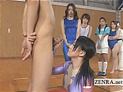 bizarre, group, blowjobs, asian, group sex, uniform, weird, athletes, freak, shy