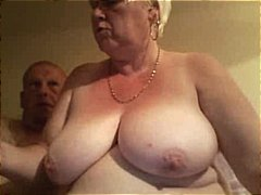 chubby, pussy, spreads, wide, fat, big tits, plump, granny, nailed, blonde, hubby, old, mature, gets, bbw, amateur