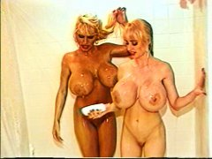 busty girls, big boobs, girls, tub, busty, blondes, showers