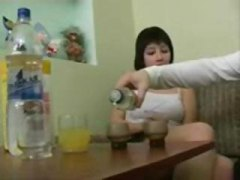 drunk, sucking, anal, fucking, anya, action, brunette, blowjob, seduced, into, gets