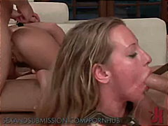 hardcore, bdsm, sex, deepthroat, sexandsubmission.com, face-fucking, big-tits, rough-sex, brunette, submission