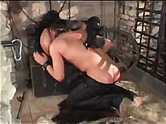 doggy, pussy-licking, fetish, brunette, blow-job, panties, boots, leather