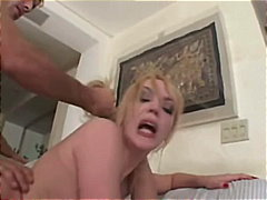 Annette Schwarz, throat, dp, abuse, fucking, mouth, deep, blowjob, ass, choking, blonde