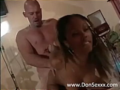Lacey Duvalle, kissing, tight, interracial, ebony, cumshot, facial, pornstar, doggystyle