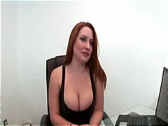 riding, tits, pornstar, blowjob, reality, doggystyle, lacy stockings, big, head, red