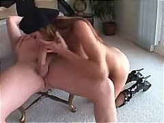 cumshot, mouth, riding, ass, facial, stockings, anal, fishnet, fuck, brunette, tight, blowjob, doggystyle