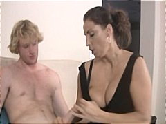 Milf stacie starr and keegan monroe gives this guy a nice handjob
