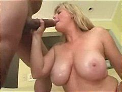 milf, blond, inter-ras