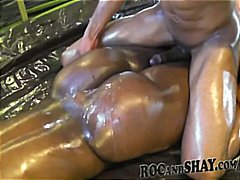 butt, oiled, anal, ebony, ghetto, cumshot, amateur, booty, blowjob