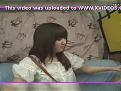 Amateur japanese girls getting introduced to a huge vibrator
