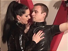 bdsm, dominant kvinna, latex