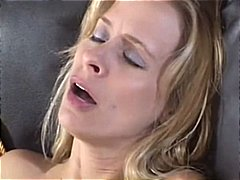 Lesbian threesome pleasuring themselves with some hot vibrator plunging
