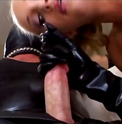 Angel Long, paartjie, anaal, lateks, bj, gelaat, blond, fetish