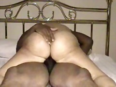 Mature women riding to an orgasm
