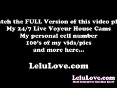 Lelu love-after workout standing quickie