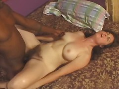 Hairy woman fucked by black man - p4