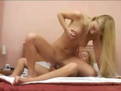 anal, lesbiennes, blondes,