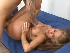 August, blond, babe, bj