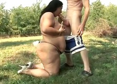 Hot pigs fucking outdoor