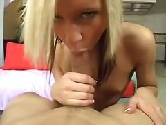 riding, shaved, pov, small tits, pierced, petite, close up, blowjob, hardcore