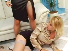 pissing, lesbian, threesome, couch, blowjob, hardcore, fetish