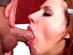 gagging, blowjob, facefuck, european, messy, deepthroat, brunette