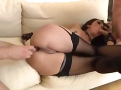 anal, brunette, cul, ass, butt, euro