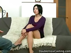 Exotic 19 year old hottie takes a fat cock in hot ass fucking act