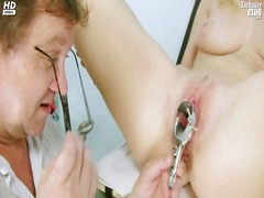 clinic, doctor, kinky, exam, pussy, gyno, speculum