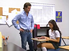 shaved, schoolgirl, classroom, big-cock, uniform, young, tall, innocenthigh.com, teen, hardcore