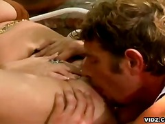 pussy licking, brunette, milf, hardcore, outdoor, oral
